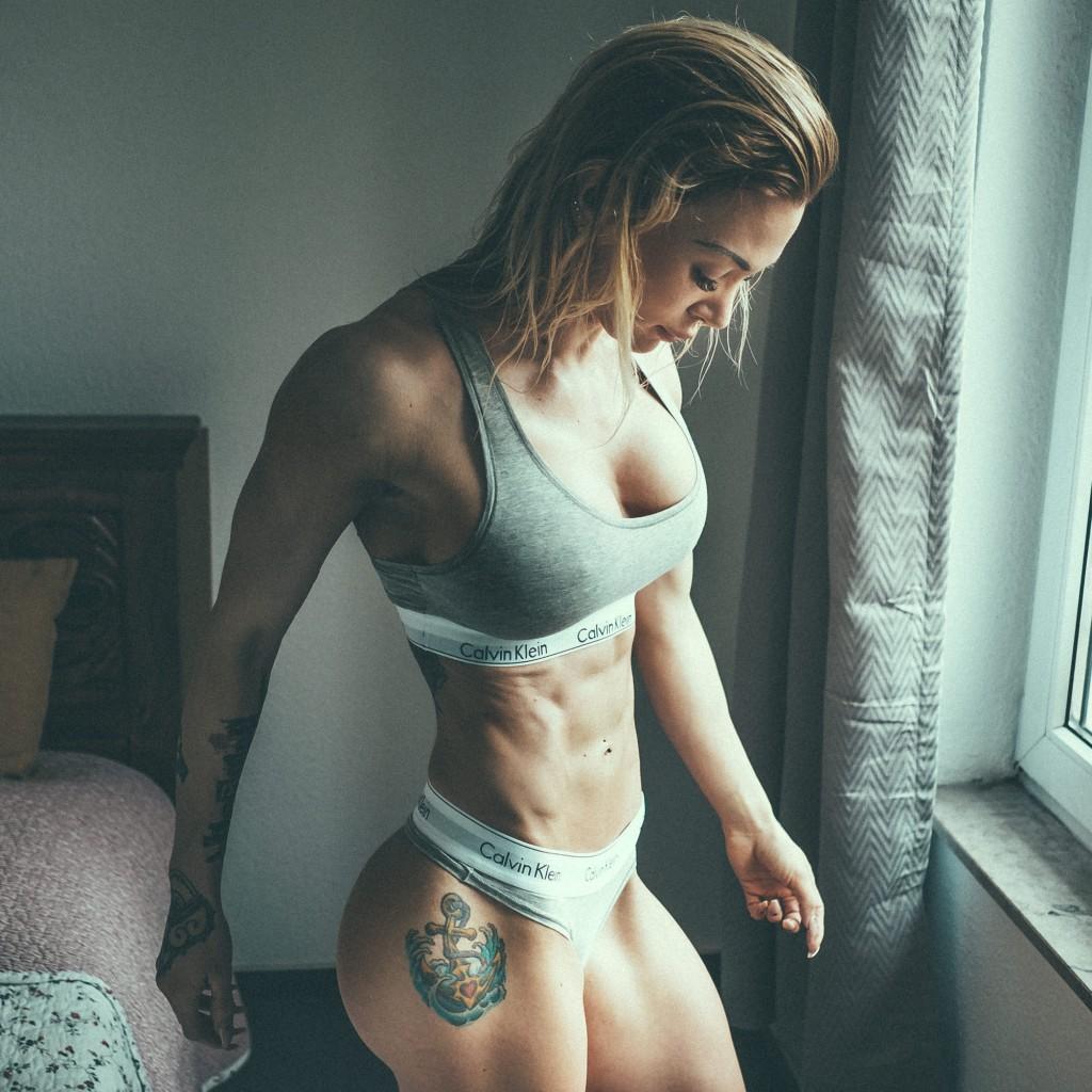 Aktuelle Form - nach ein paar Wochen höherer Trainingsfrequenz und ein paar Hundert Kalorien weniger